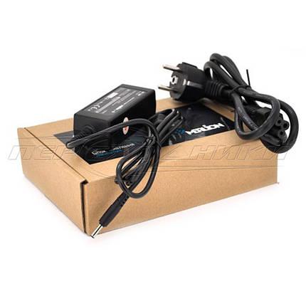 Блок живлення для ноутбука HP 19V 1.58 A (30 Вт) штекер 3.5*1.5 мм, довжина 0,9 м + кабель живлення, фото 2