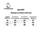 Куртка Фабричная на молнии со съемным капюшоном Fine Baby Cat Китай Размеры 46-52, фото 3