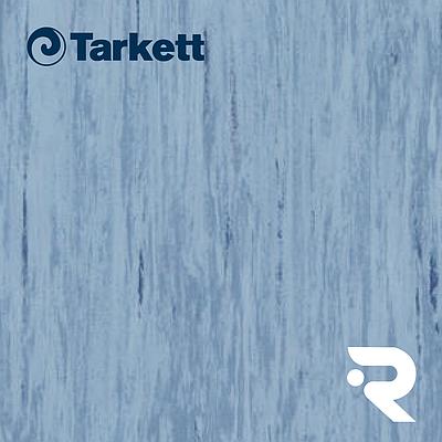 🏫 Гомогенний лінолеум Tarkett | Standard MEDIUM BLUE 0492 | Standard Plus 2.0 mm | 2 х 23 м