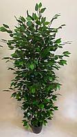 Искусственное дерево пышное фикус латекс 1.60 м