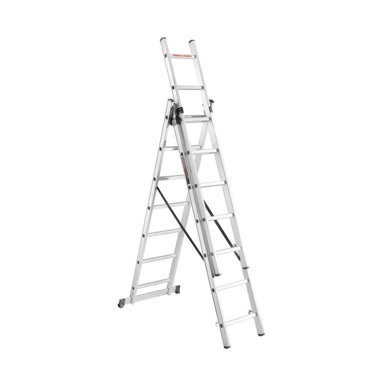 Лестница алюминиевая универсальная Dnipro-M CL-307 7 ст 413 см