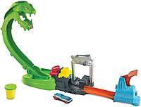 Трек Хот вилс Токсичная кобра, Атака ядовитой змеи Hot wheels Toxic Snake Mattel GTT93