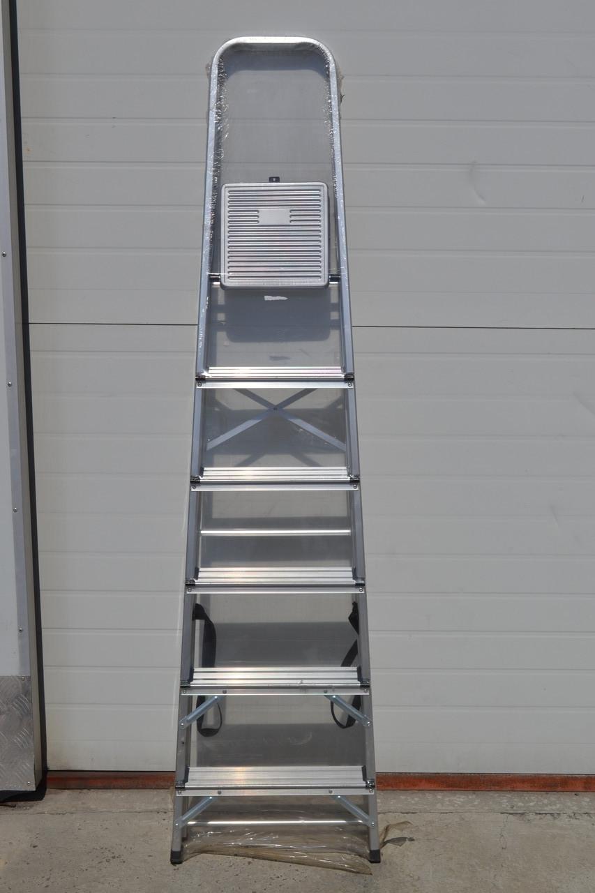 Стремянка алюминиевая Werk 7 - ступеней