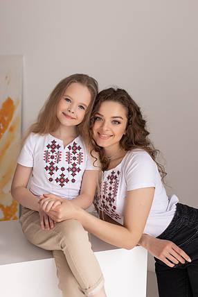 Трикотажные футболки вышиванки семейные, фото 2