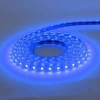 "Стрічка светлодиодная ""VOLGA"" (220-240V) вологозахищена синя ціна вказана за 1м"
