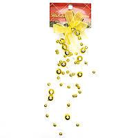 Украшение - свисающая гроздь, 20 см, золото, (001279-2)