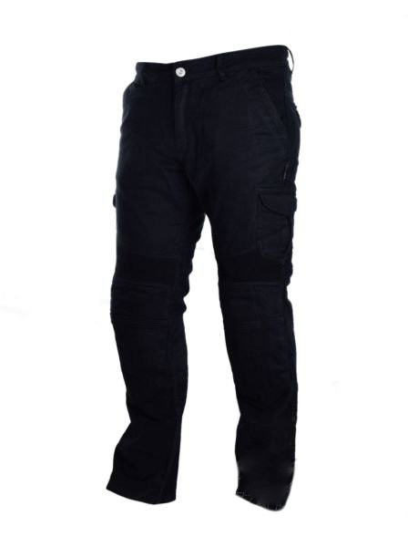 Мотоджинсы Leoshi Giro Jeans Black, кевлар, наколенники Level 2 30
