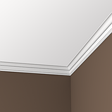 Карниз 6,50,174 для потолка с композиту Европласт, фото 2