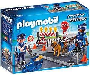 Playmobil 6924 Полицейское дорожное ограждение Place of Police Block