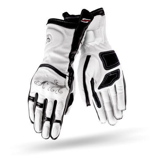 Мотоперчатки женские Shima Modena White