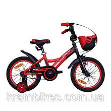 "Велосипед VNC - Wave (2019) (16""-22см) red/black (shiny)"