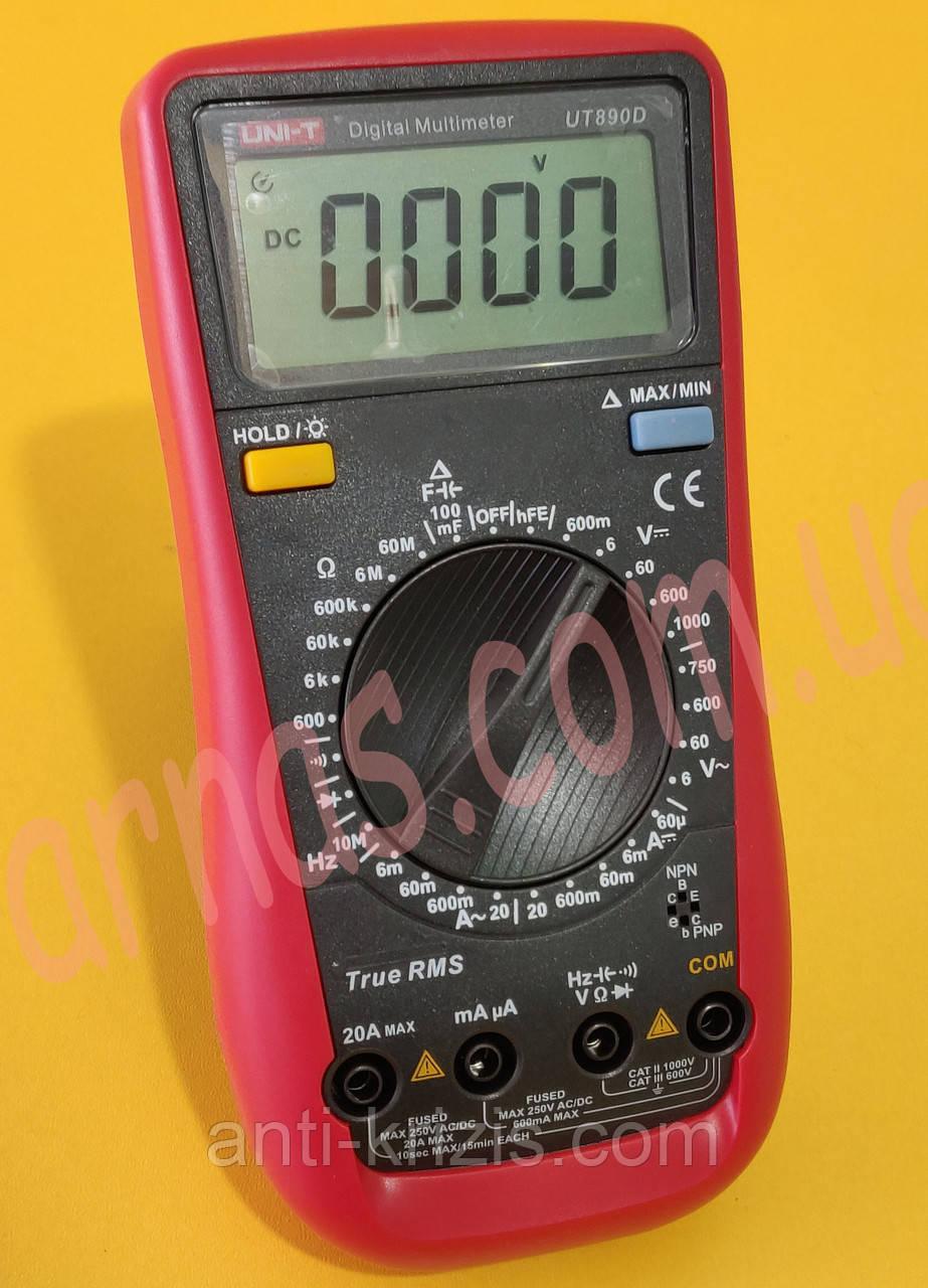 Мультиметр Unit UT890D цифровий