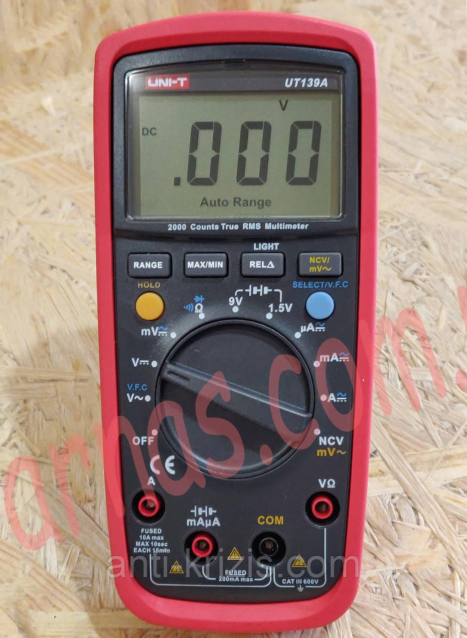 Мультиметр Uni-t UT139A цифровой