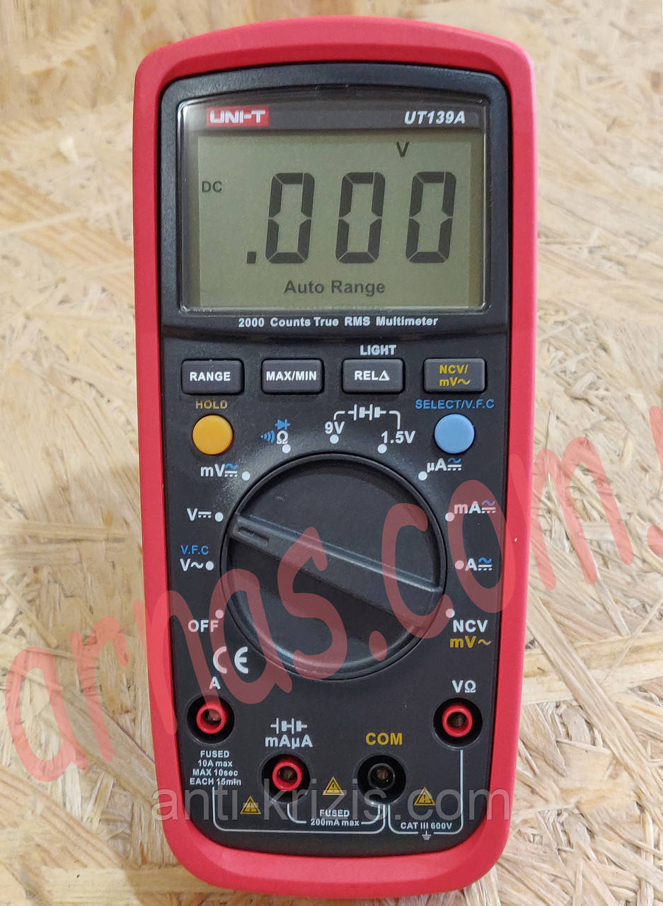Мультиметр Unit UT139A цифровий
