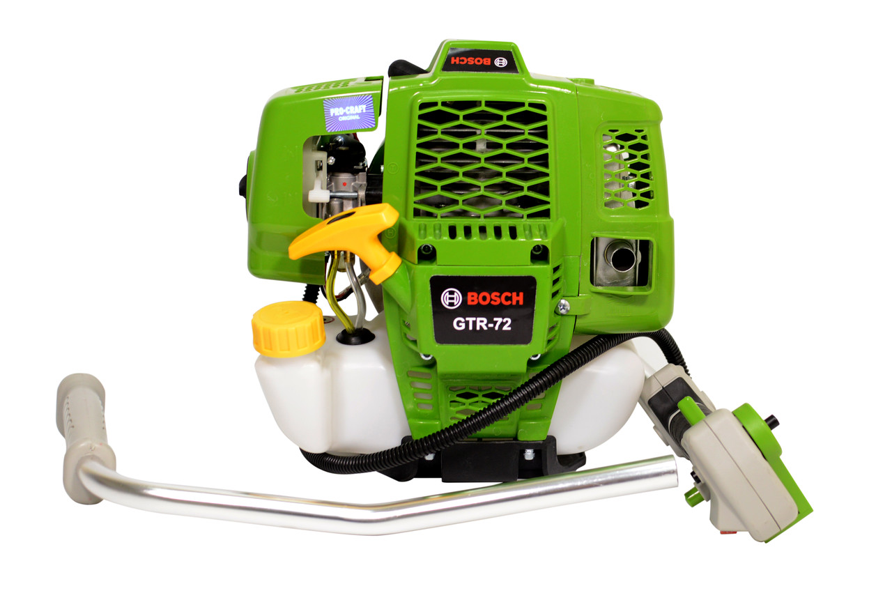 Мотокоса бензинова Bosch GTR 72 (Кущоріз, тример, бензокоса 4.8 кВт / 6.5л.с)