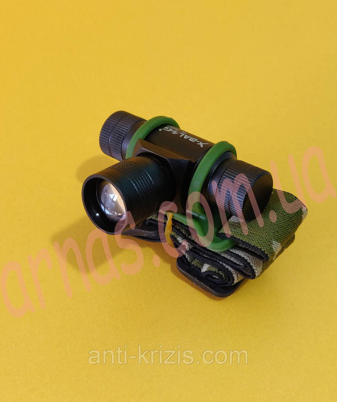 Налобний ліхтар акумуляторний Bailong BL-6660