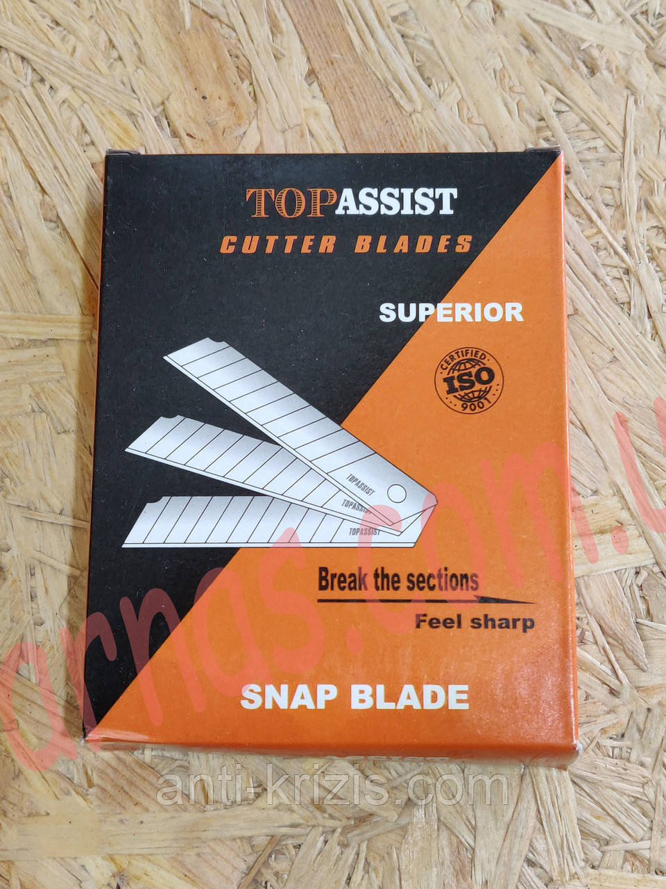 Леза для канцелярських ножів (18мм) TopAssist