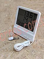 Термометр-гігрометр cx301A цифровий c виносним датчиком, фото 1