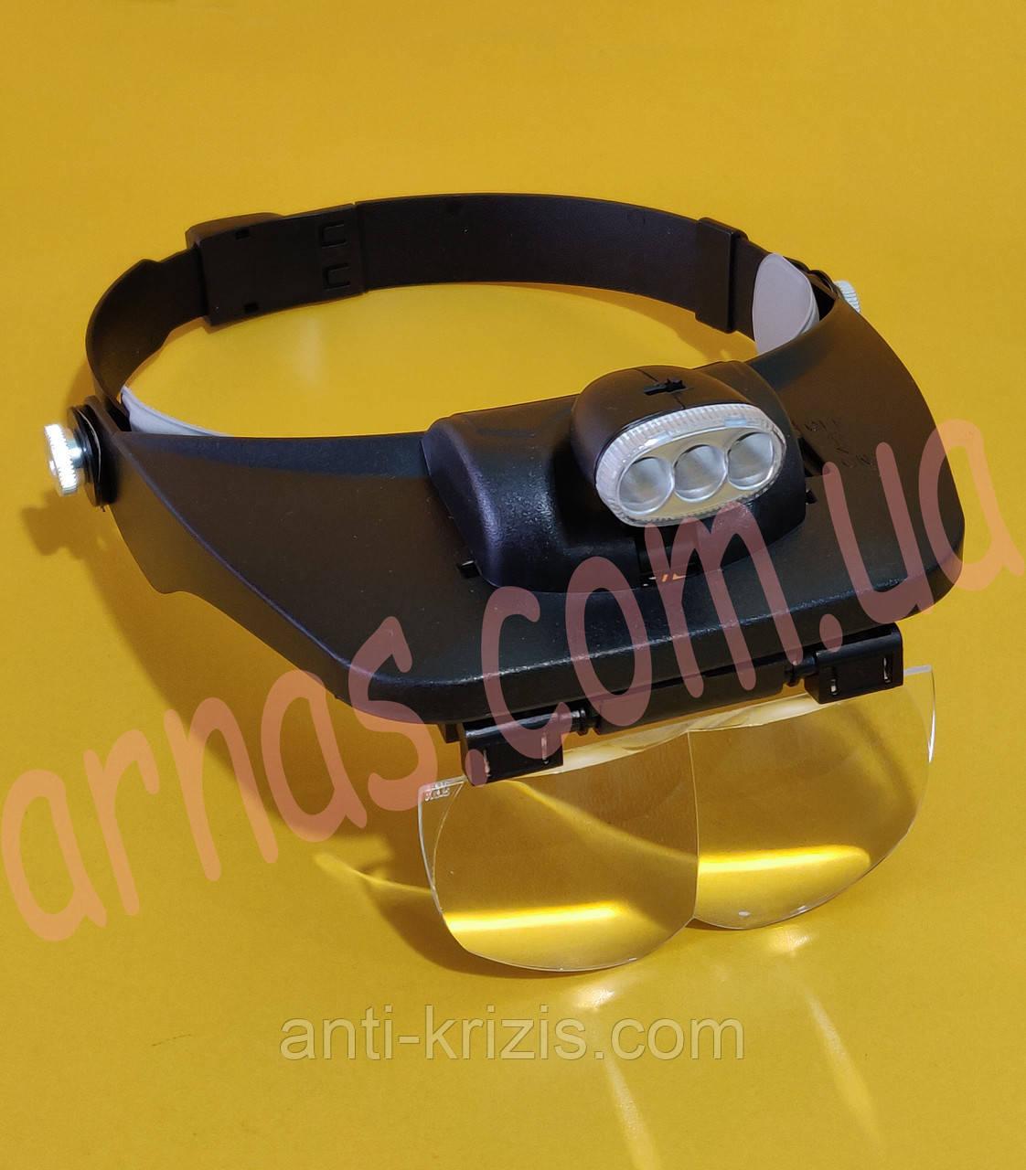 Бинокуляр окуляри бінокулярні зі світлодіодним підсвічуванням MG81001-E
