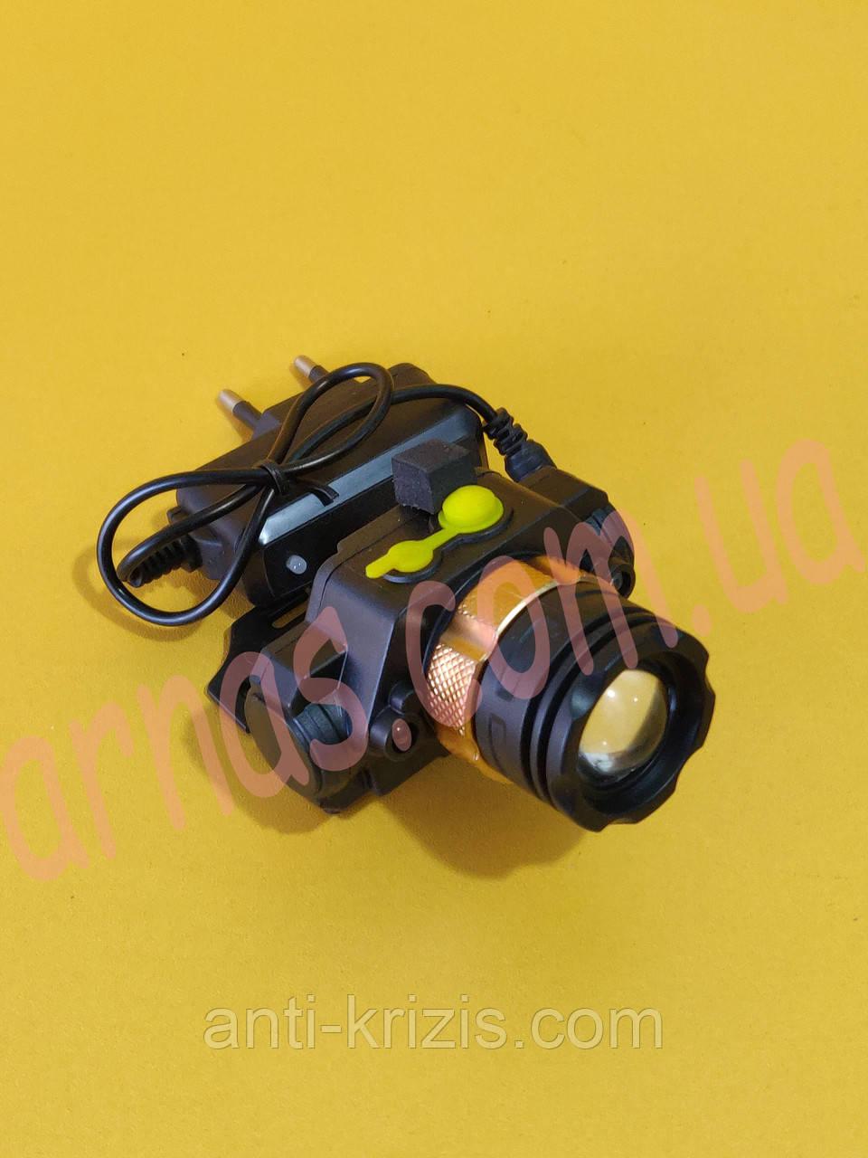 Налобний ліхтар акумуляторний V53-2-1