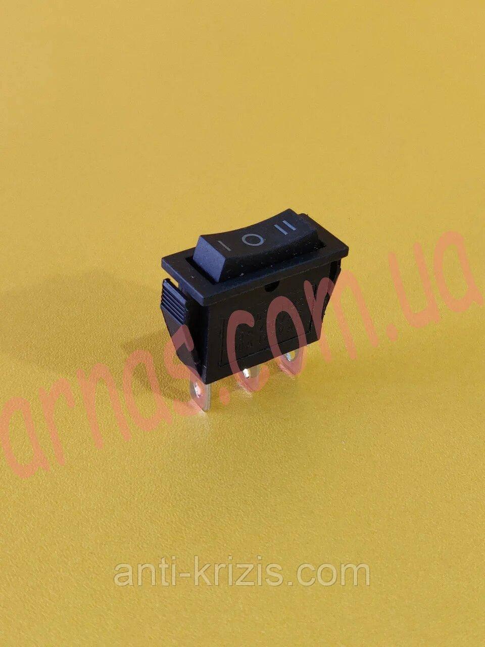 Кнопка одинарная трехпозиционная (13522A-15)