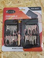 Набор отверток для мобильных телефонов XW-6025 (3-102), фото 1