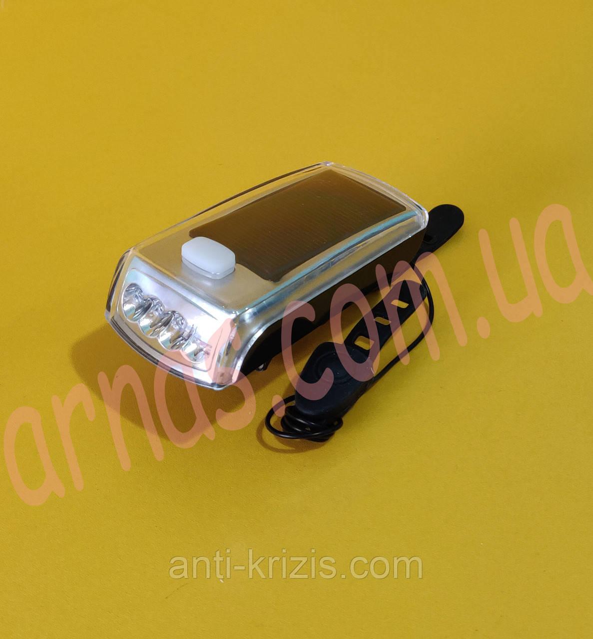 Фонарь велосипедный с сигналом Speaker bicycle light HJ-045 (4-14)