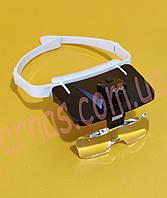 Бинокуляр очки бинокулярные со светодиодной подсветкой TH-9203, фото 1