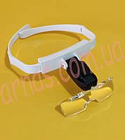 Бинокуляр очки бинокулярные со светодиодной подсветкой TH-9201, фото 1