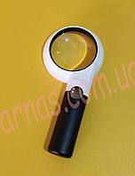 Лупа ручная с подсветкой CH75-10L, фото 1