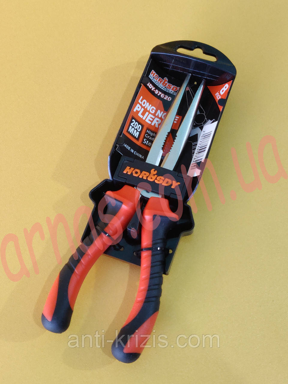 Длинногубцы Sdy-97620 200mm (3-115)