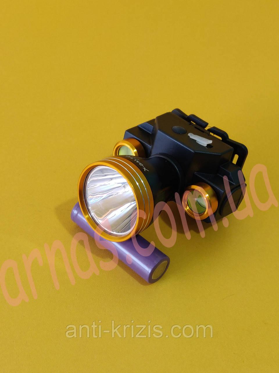 Аккумуляторный налобный фонарь BL-606-T6