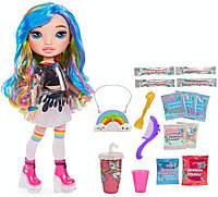 Poopsie Rainbow Surprise Dolls Кукла Рейнбоу Хай Радужная леди со слаймами Rainbow Dream Doll with DIY Slime