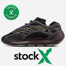 Женские кроссовки Adidas Yeezy Boost 700 V3 Black Brown, фото 3
