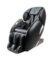 Массажное кресло AlphaSonic II +Braintronics (серо-черное) -  элегантное массажное кресло