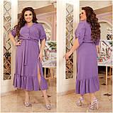 Праздничное платье женское Креп  с вышивкой Размер 48-50 52-54 56-58 60-62 64-66 Разные цвета, фото 10
