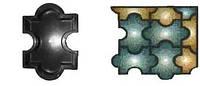 Форма для производства тротуарной плитки «Мозаика гладкая»