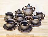 Чайний набір гончарний на 6 осіб, фото 2