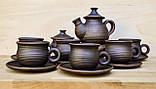 Чайний набір гончарний на 6 осіб, фото 3