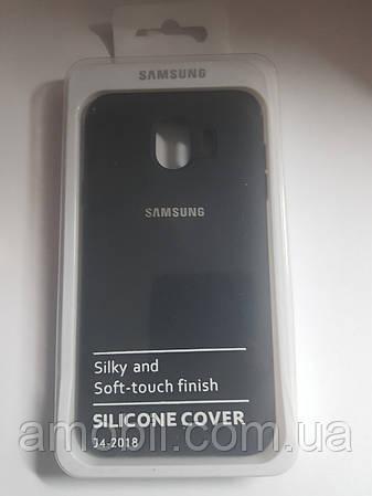 Чехол Silicone Case Samsung J400 (2018)  (black)