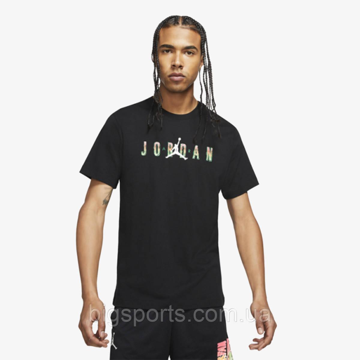 Футболка муж. Nike M J Sprt Dna Hbr Ss Crew (арт. CZ8083-010)