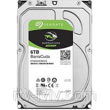 Накопитель Seagate BarraCuda 6TB HDD