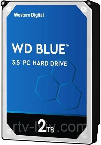 Накопичувач WD Blue 2TB [WD20EZAZ]