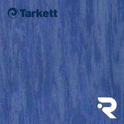 🏫 Гомогенний лінолеум Tarkett | Standard ROYAL BLUE 0920 | Standard Plus 2.0 mm | 2 х 23 м