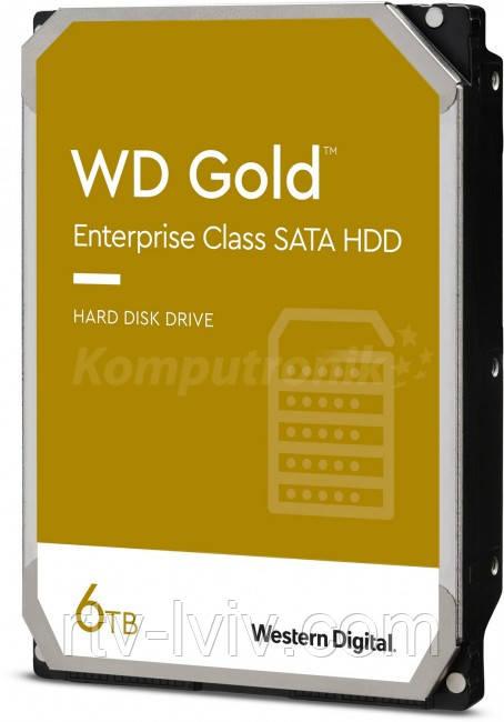 Накопитель WD Gold 6TB