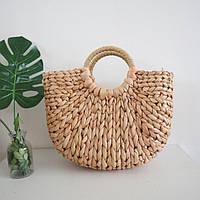 Солом'яна сумка з ручками Small Luxury