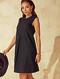 Платье-трапеция из прошвы ЛЕТО, фото 2