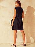 Платье-трапеция из прошвы ЛЕТО, фото 3