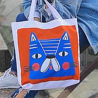 Сумка женская Синий Кот
