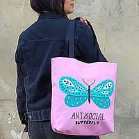 Сумка жіноча Antisocial butterfly